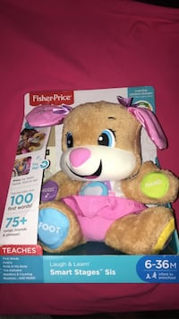 FisherPrice learning toy