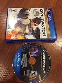 two Sony PS4 game cases Pinellas Park, 33781