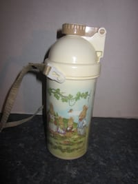 Rare Vintage Peco Ware Beatrix Potter Peter Rabbit and Family Sip Cup Thermos Winnipeg