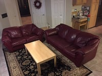 Couch and love seat  Coquitlam, V3C 6A3