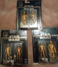 Disney gold plated Darth Vader and Stormtrooper South Bend