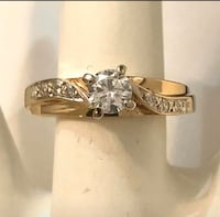 14k gold custom crafted diamond engagement ring *Compare at $2,700 Vaughan, L4J
