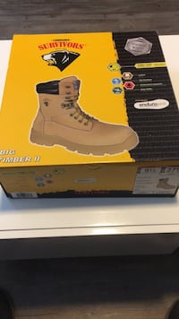 Brand new Steel-toe Work boots Tampa, 33612