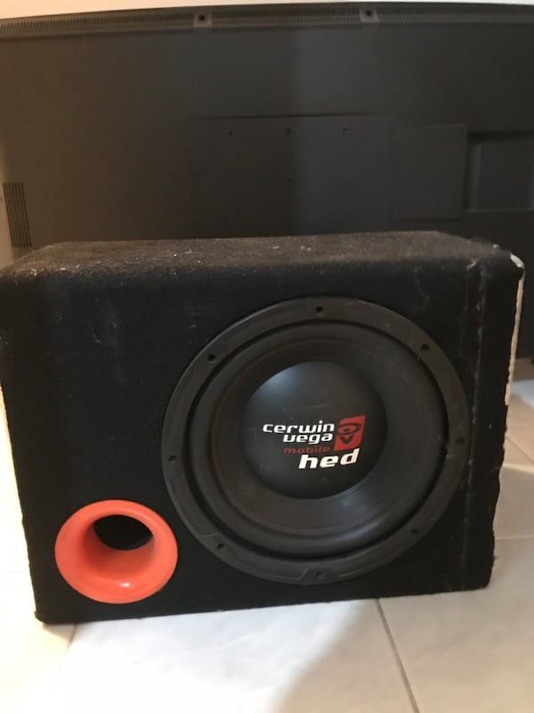 1000 wat 30 cm Cerwin vega mobile hed bass 0