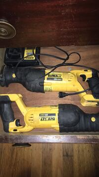 yellow and black Dewalt corded power drill Concord, 94519