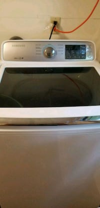 white Samsung top-load washing machine Youngstown