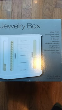 BRAND NEW White Jewelry Box Chantilly, 20152