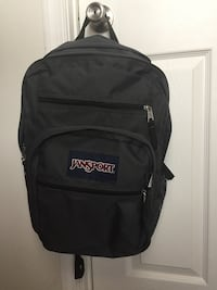 black and gray Jansport backpack 47 km