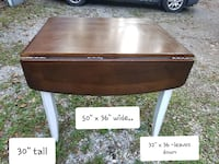wooden drop leaf table Thurmont