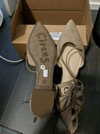 Brand new Sam Elderman tan flats size 9 Toronto, M5A 3H1