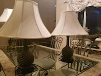 white and black table lamp Pembroke Pines, 33029