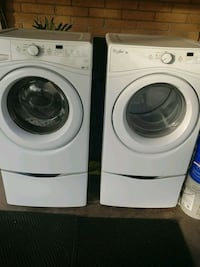 white front-load clothes washer and dryer set Tucson, 85719