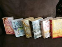 five assorted books by Sarah Dessen Brant, N0E