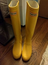 Hunter Original Rain Boots Yellow Sz 5 Los Angeles, 90025