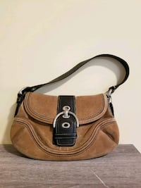 brown and black leather crossbody bag Richmond, 23220