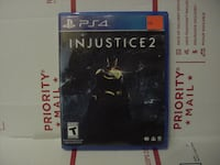 PLAYSTATION 4 GAME INJUSTICE 2 COMPLETE Albuquerque