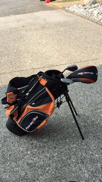 Orange and black golf bag kids Delta, V4E 2M2
