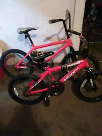 20in BMX bike and 18 inch BMxred and black bicycle Lafayette, 70501