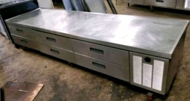 Delfield Chef Base Refrigerated Restaurant Equipment Stand Commercial