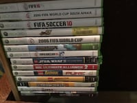 assorted Xbox 360 game cases Los Ángeles, 91406