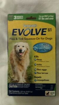 Evolve flea and tick squeeze on