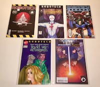 Robotech comic book collection 5 hard to find rare comic books #1-up Toronto