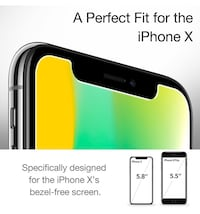 iPhone X Screen Protector,  (2-Pack)