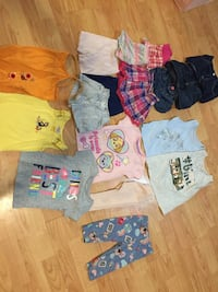 Girls size 18-24 and 2T