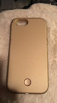 Brown iphone case