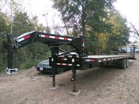 black and red utility trailer 1208 mi