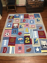 Pottery Barn athletic quilt and sham Vine Grove, 40175