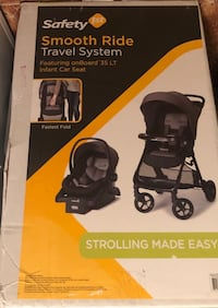 black and gray Graco car seat carrier box Hyattsville