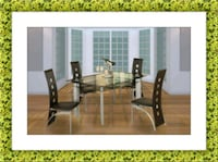 Glass dining table with 4 chairs Ashburn, 20147