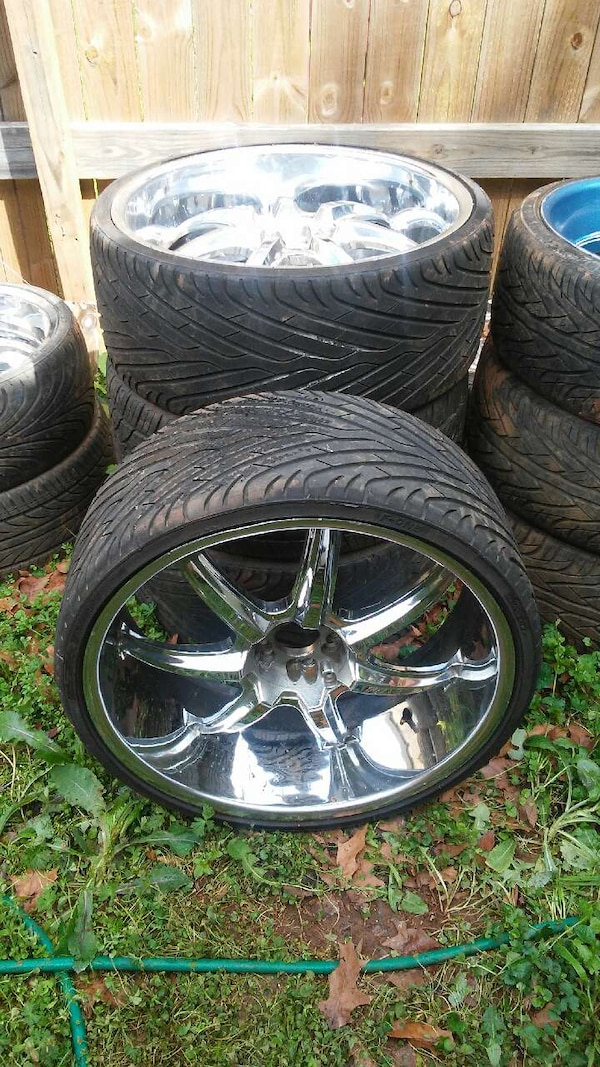 Used Rims For Sale >> 24 Inch Rims With Brand New Tires
