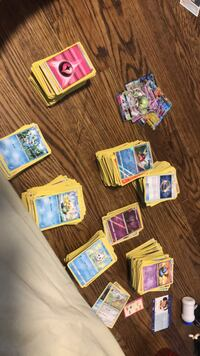 Huge lot of Pokémon cards for $361 any other prices are negotiable so I will decide there are about 1500 cards if you purchase the lot I will add in a couple more EX Toronto, M1B 1C6