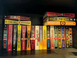 Almost all (21/24) the Jack Reacher novels