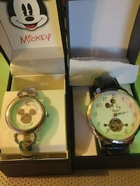 Brand New Mickey and Miney Mouse Watches