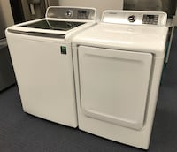 New SAMSUNG Washer Dryer ELECTRIC OR GAS AVAILABLE Phoenix, 85029