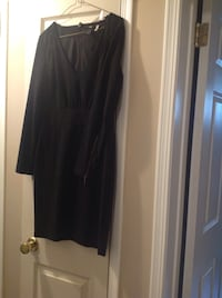 H&M black long sleeve dress, size 8 - worn a couple times