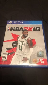 Sony ps4 nba 2k18 game case Kissimmee, 34759