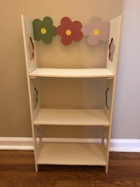 Cute Wooden Bookshelf  Woodbine, 21797