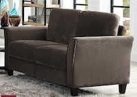 gray fabric 2-seat sofa Ajax
