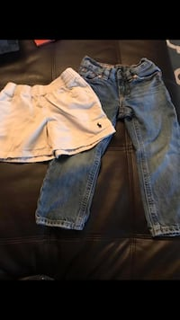 Polo jeans 2T polo shorts 3T Odessa, 79762