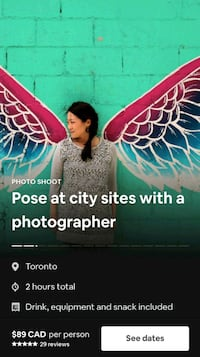 Pose at city sites with a photographer Toronto