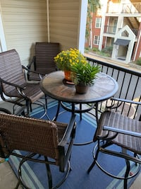 Patio Set - High Top Table & 4 Chairs Alexandria, 22302