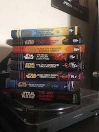 Misc. Star Wars books $5 each or $40 for all Independence, 64056