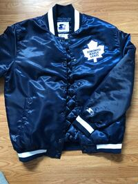 New never worn starter jacket Toronto maple leafs size L Windsor, N8X 1X9