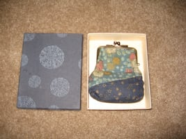 Japanese cotton fabric coin purse