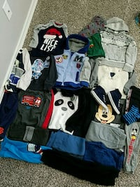 Boy clothing, size 4t. Fall/winter