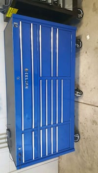 Selling Matco 4s blue with chrome trim tool box Gainesville, 30506